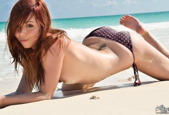Ariel rebel beach