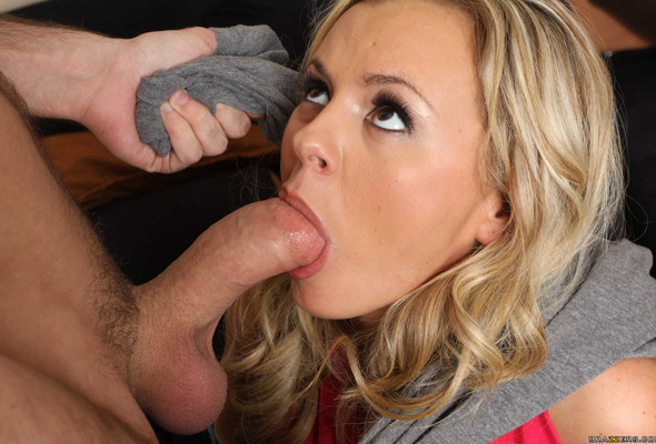 Bree olsen sucking cock