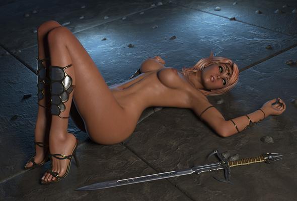 3d nude girl wallpaper