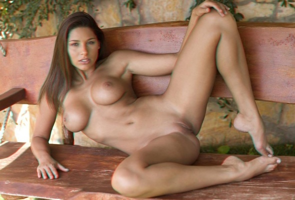 Big boobs brunette nude