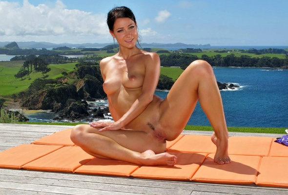 Melissa a nude yoga apologise, but