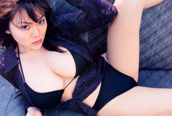 Quickly yoko matsugane black bikini