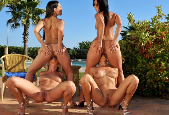 Group Asslicking 17