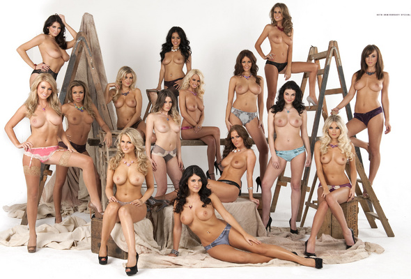 Group boobs naked