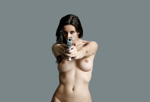 Pictures Nude Females With Guns 107