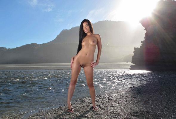 Asian nude beach photos