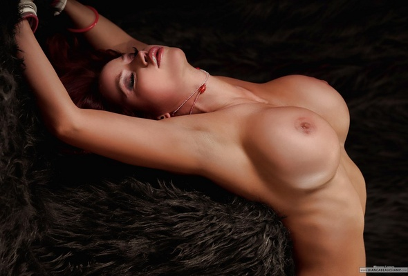 Firm young breasts