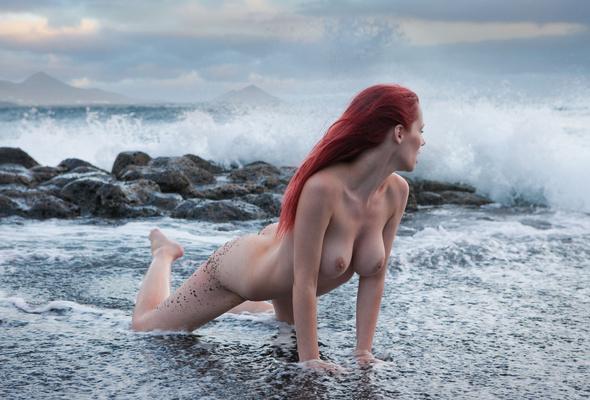 Ftop Ru Girls Beaches Ariel Red Hair Nude Beach Wallpaper
