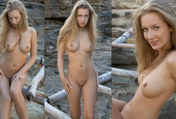 Wallpaper tits, nude, model, blonde, smile, juicy, beauty