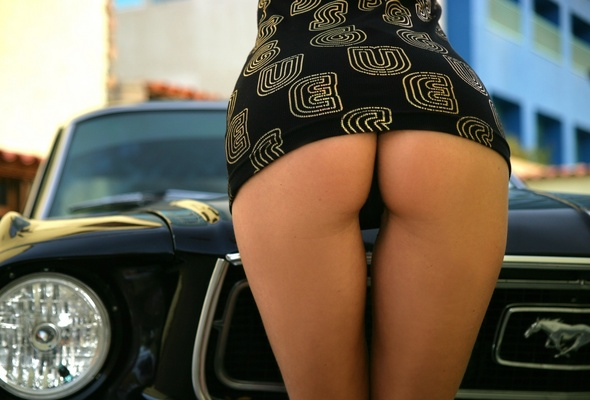 Girls ford nude mustangs and