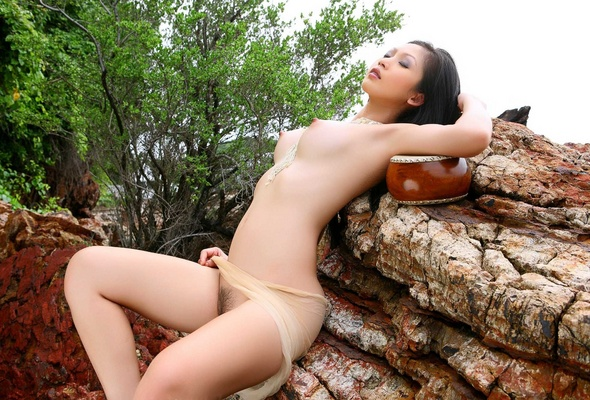 Lin si yee naked spread pussy tits ass
