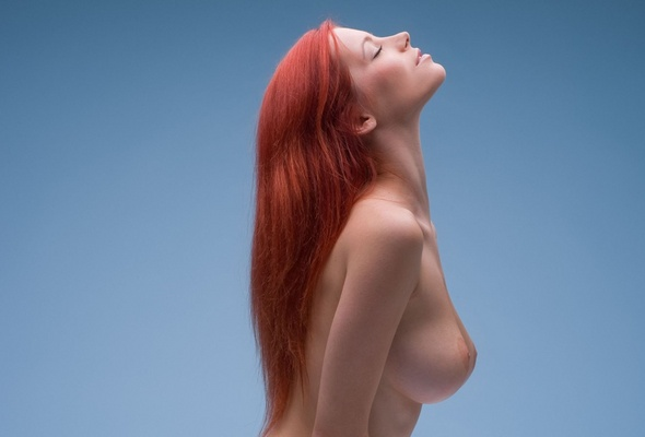 Redhead Big Tits Nude