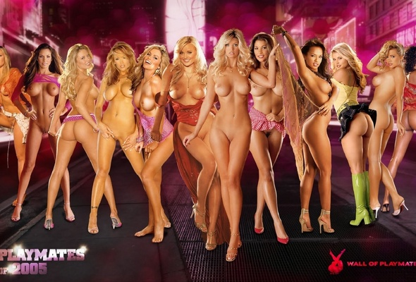 Playboy Playmates Group Nude Girls