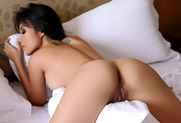 Girl nude ass asian Cute