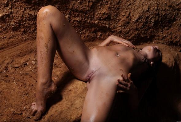 naked girls on dirt bikes