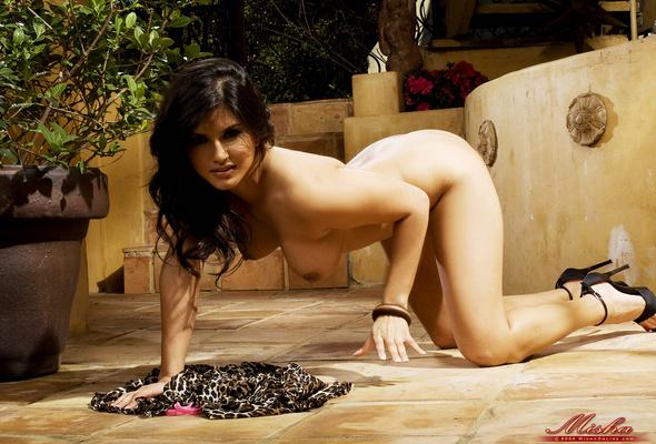 sunny leone, nude, sexy, babe