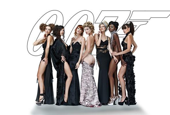 bond girls, hot, sexy, legs, 007, dress, ass