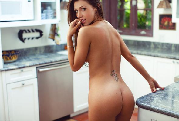 big tits beauty in romantic sex scene