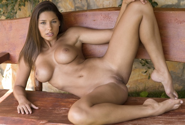 Brunette Hot nude tan