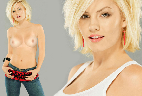Elisha cuthbert fakes nude celebrity, men sexfighting
