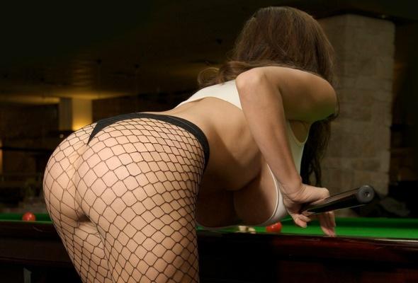 Jordan carver pool table boobs