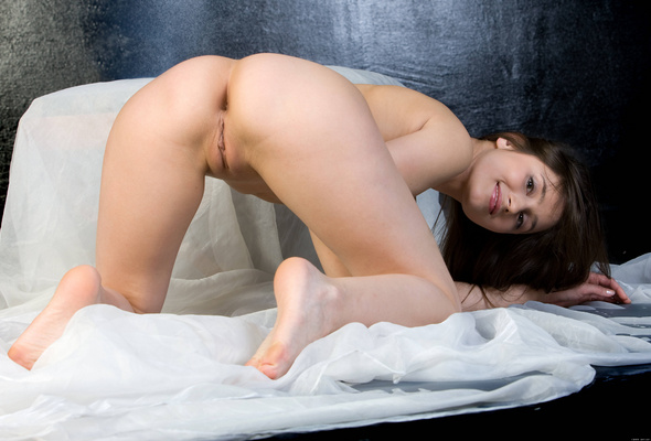 Long hair sexy asshole doggystyle
