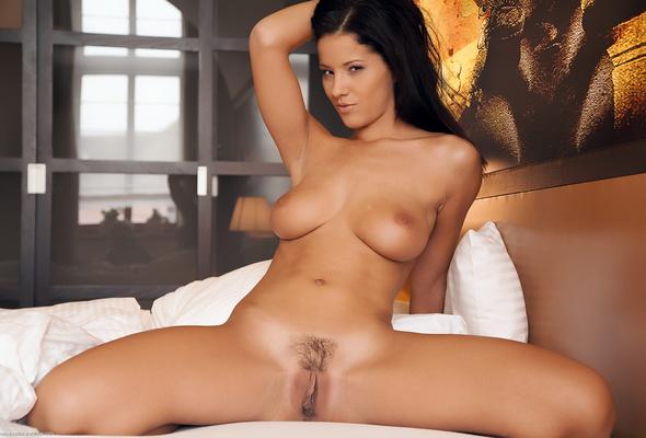 Porn angel Brunette star