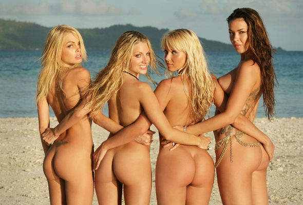 Tatu girls on nude beach