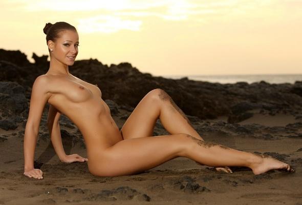 Wallpaper Melisa, Brunette, Nude, Naked, Girls, Sexy -8287