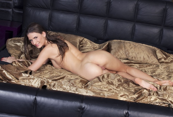 Fucking sexy lingerie model
