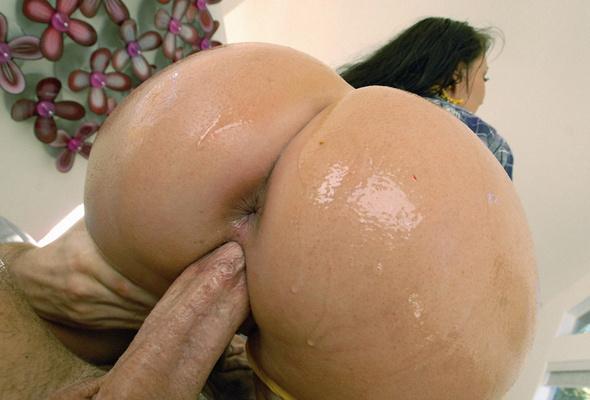 big wet naked ass