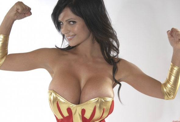 Wonder as woman milani denise