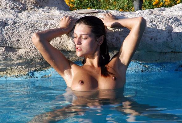 Brunette, Nude, Boobs, Tits, Sexy, Sharon E