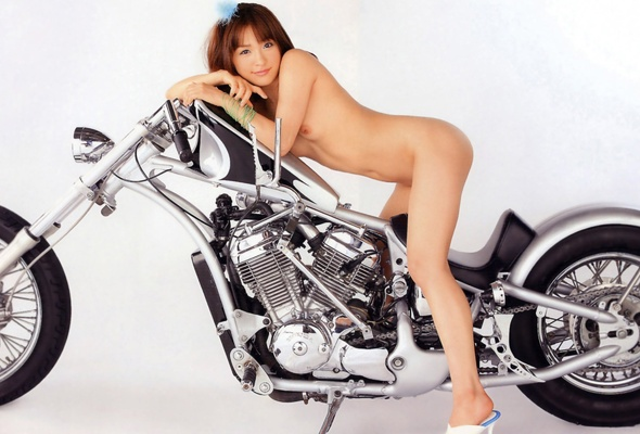 Congratulate, your Nude asian on bike talk