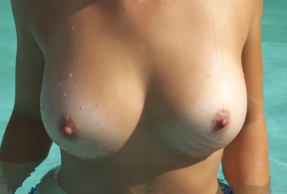Tits goosebumps nipple
