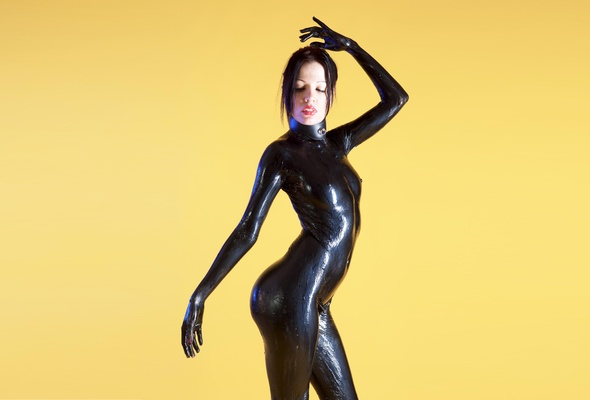 Fetish liquid latex