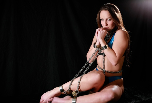 Collar submissive slave girl