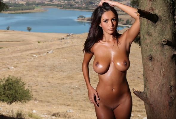 Petite Brunette Big Tits