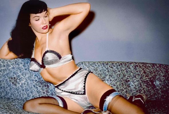 Bettie page vintage erotica