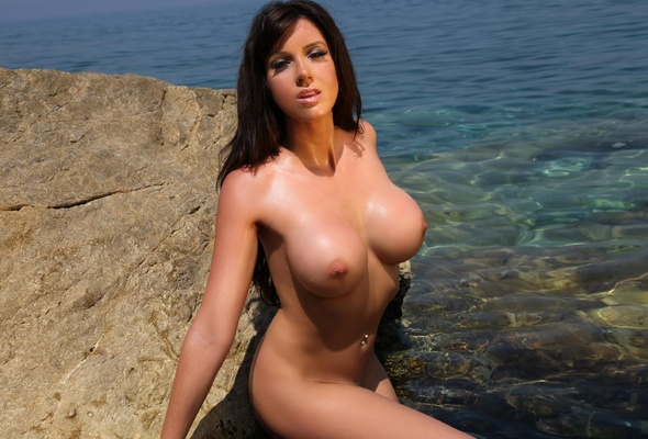 tits Water boobs wet nude