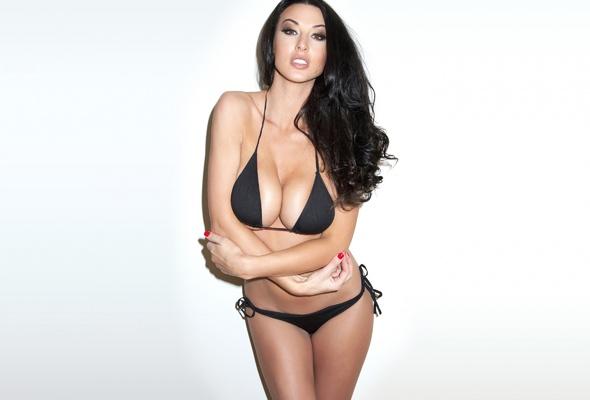 Accept. bikini boob busty tit
