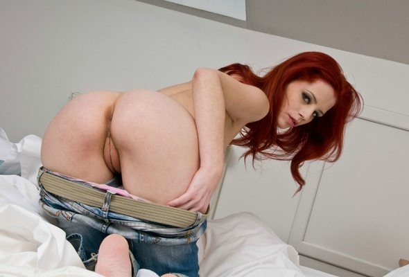 redhead and pussy ass Perfect