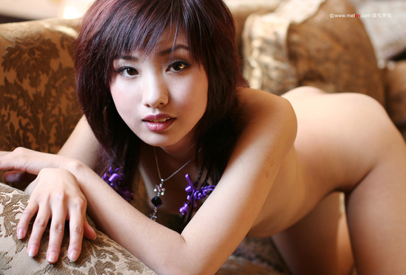 Asian nipples erect