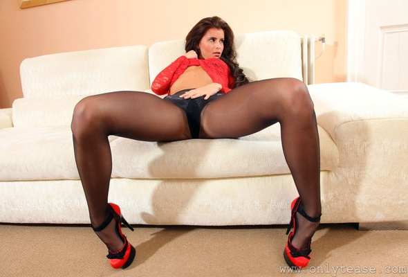 Megan in pantyhose