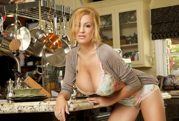 All big natural tits kitchen