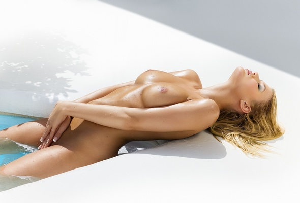 Nude wet playmate — 7