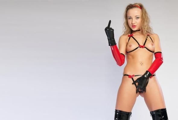 latex big tit models in bras - betty, blonde, young, model, posing, latex, lingerie, bra,