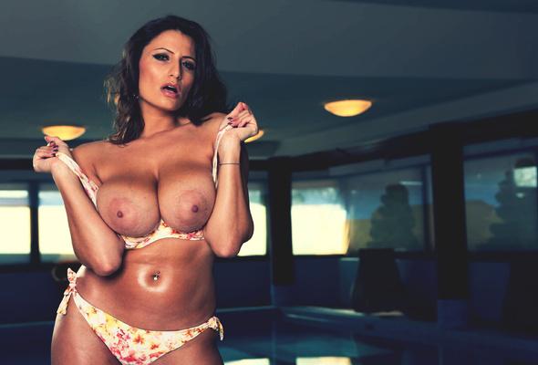 Big tits lingerie and huge saggy boobs pics-3763