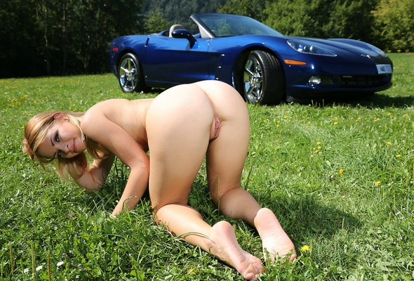 Nude blondes on corvettes #11