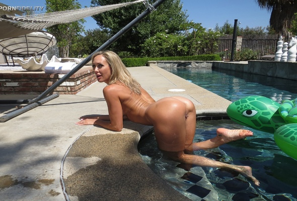 Hot milf pool